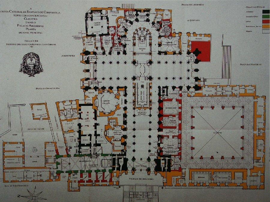 Presentacion José M. García Iglesias, departamento de Historia da Arte da Universidade de Santiago de Compostela